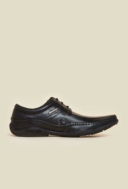 Buckaroo Paulin Black Derby Shoes