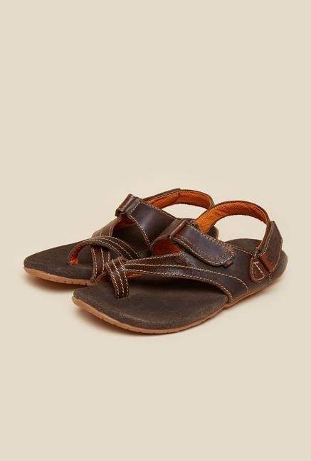 Buckaroo Colton Tan Leather Sandals