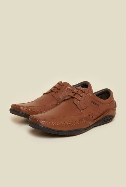 Buckaroo Paulin Tan Derby Shoes