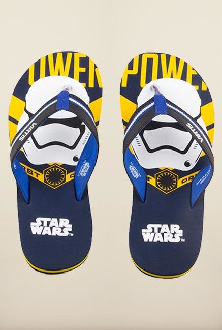 Star Wars Royal Blue Flip Flops