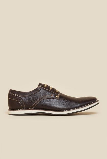 Buckaroo Roldanto Brown Derby Shoes