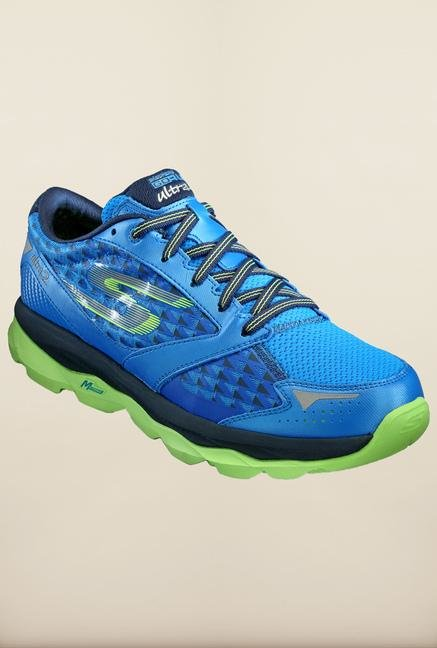 Skechers Go Run Ultra 2 Blue Running Shoes