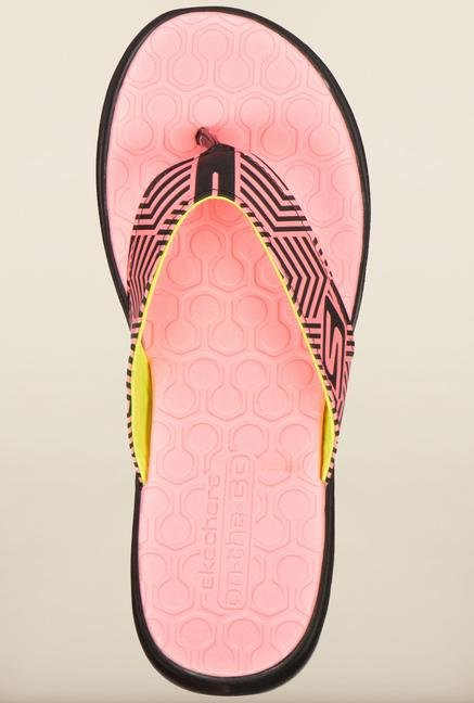 Skechers On-The-Go Light Pink Flip Flops