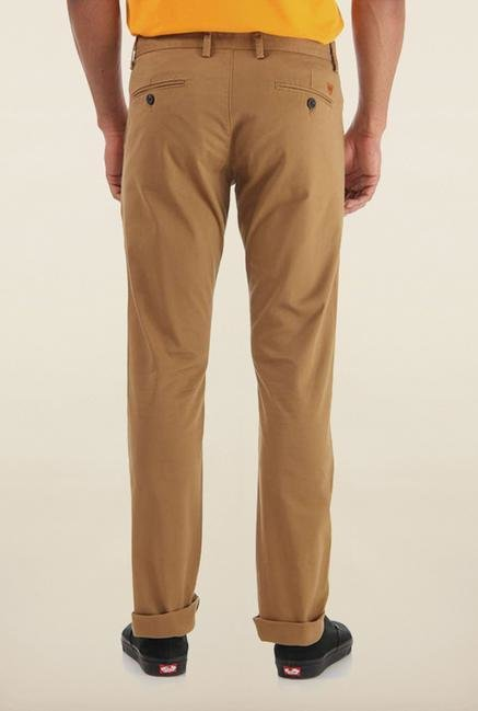 Shapes Khaki Solid Chinos
