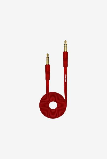 Amzer 3.5mm Auxiliary Audio Cable (3ft.) Red