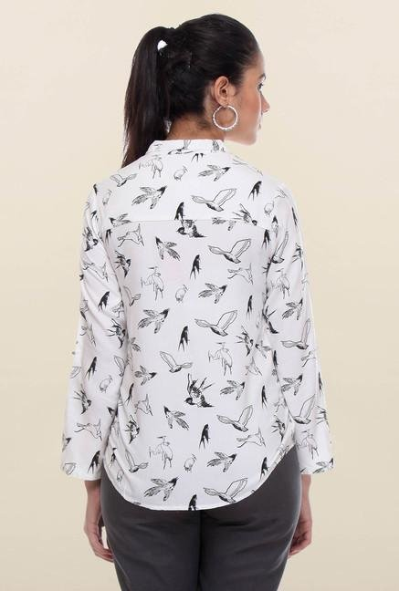 W White Bird Printed Tunic