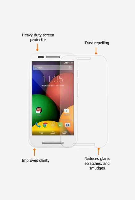 Amzer Kristal Clear Screen Protector for Motorola Moto E