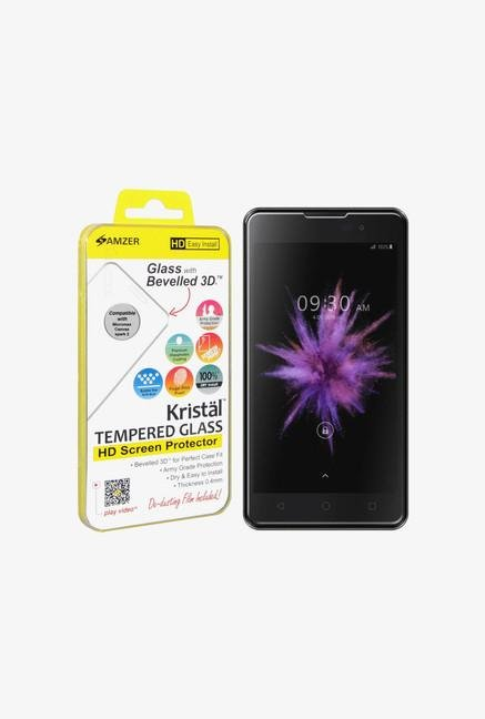 Amzer Kristal Tempered Glass for Micromax Canvas Spark 2