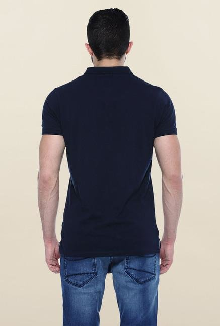 Basics Navy Polo T-Shirt