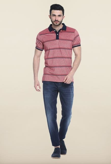 Basics Pink Polo T-Shirt