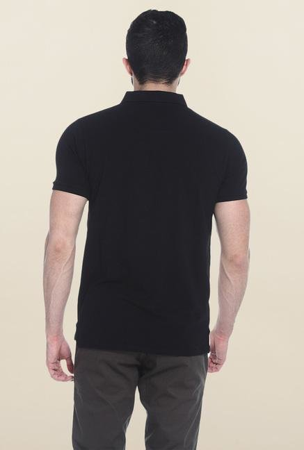 Basics Black Polo T-Shirt