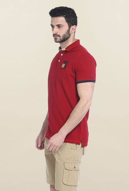 Basics Red Polo T-Shirt