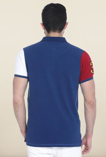 Basics Blue Polo T-Shirt