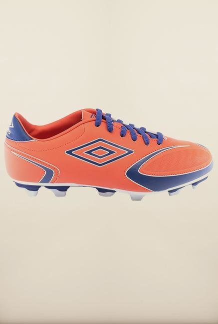 Umbro Orange & Blue Football Shoes