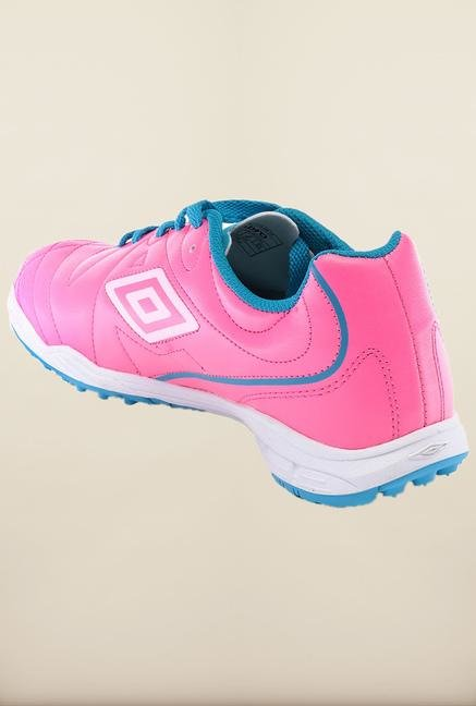 Umbro Pink & Blue Football Shoes