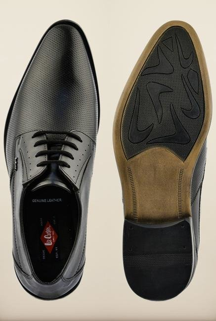 Lee Cooper Black Formal Shoes
