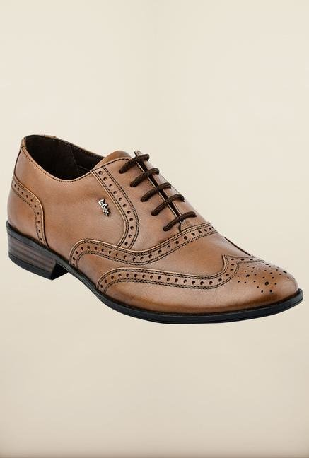 Lee Cooper Tan Derby Formal Shoes