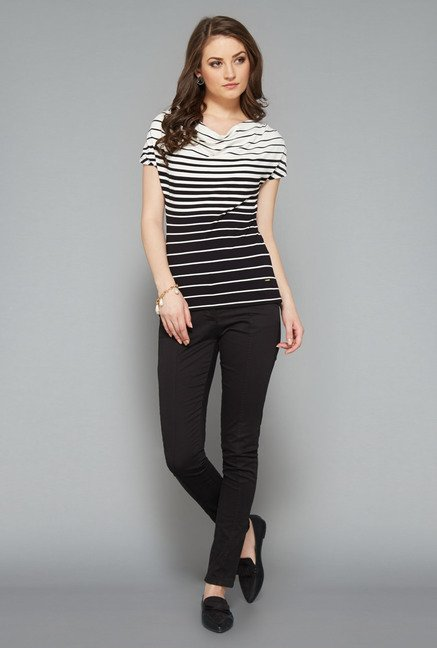 Wardrobe Black Striped Top