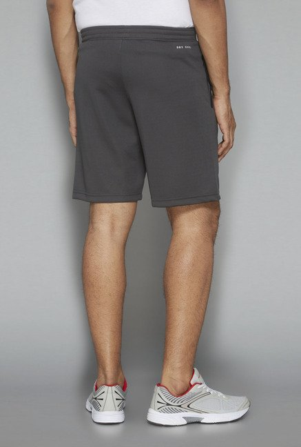 Westsport Active Grey Solid Shorts