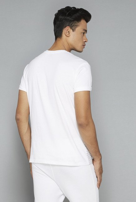 Nuon by Westside White Printed T-Shirt