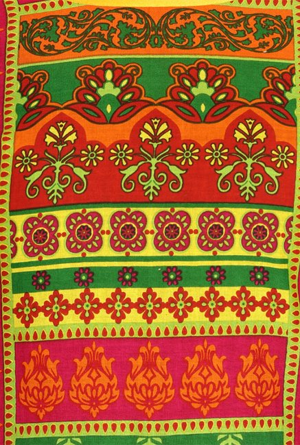 Soch Green Printed Cotton Kurta
