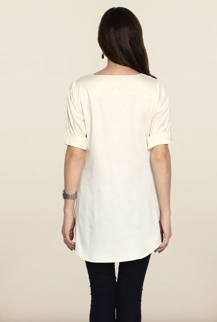 Soch Off-White Cotton Tunic