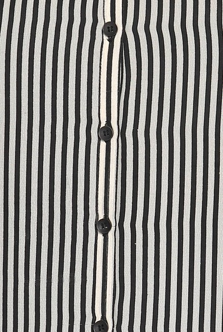 Soch Black And White Striped Tunic