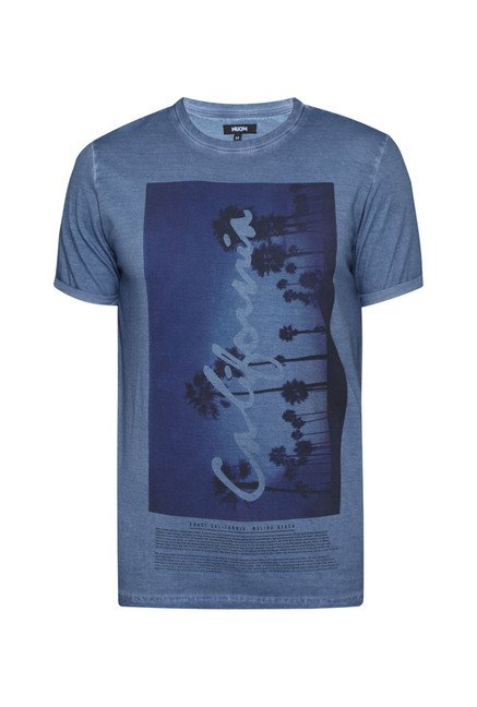 Nuon by Westside Blue Printed T-Shirt
