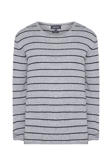Ascot Blue Striped T-Shirt
