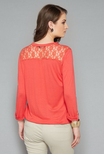 Wardrobe Orange Solid Top
