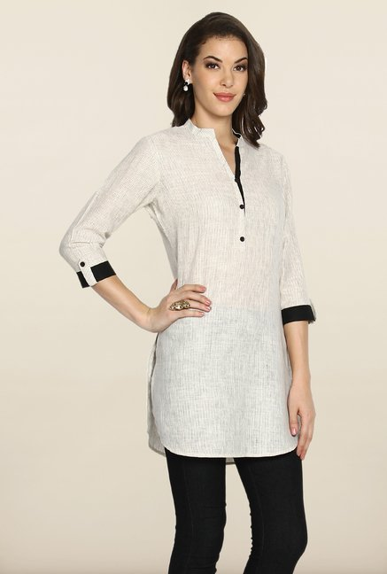 Soch Beige Striped Tunic