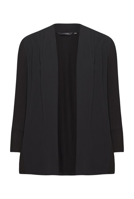 Wardrobe Black Solid Cardigan