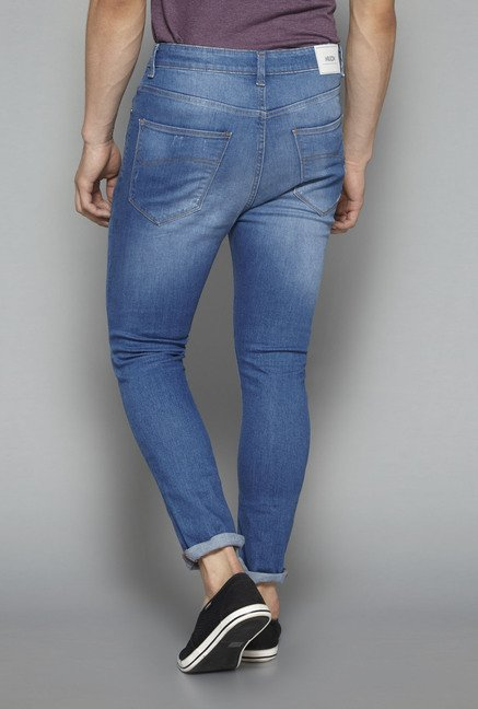 Nuon by Westside Blue Lightly Washed Jeans