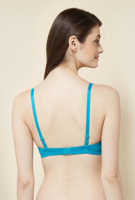 Little Lacy Aqua Padded Bra