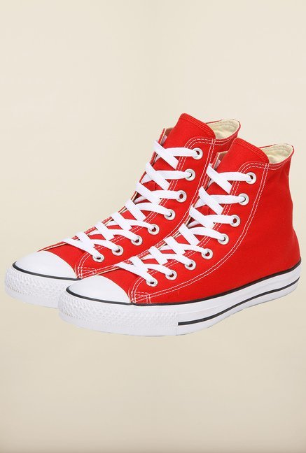 Buy Converse Red Sneakers Online at best price at TataCLiQ 9b163e604e