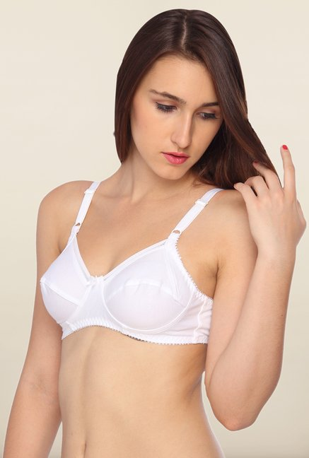 Lovable White Non-Wired Convertible Bra