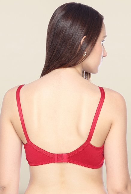 Lovable Red Full Coverage Convertible Bra