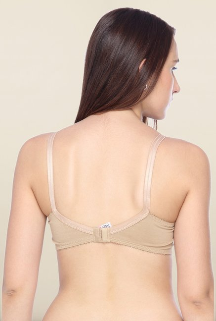 Lovable Beige Convertible Full Coverage Bra