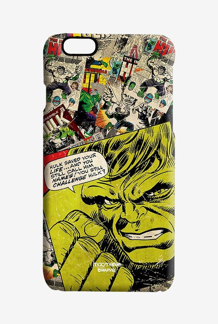 Macmerise Comic Hulk Pro Case for iPhone 6S