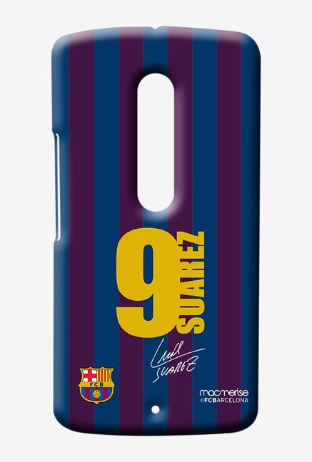 Macmerise Jersey Suarez Sublime Case for Moto X Play