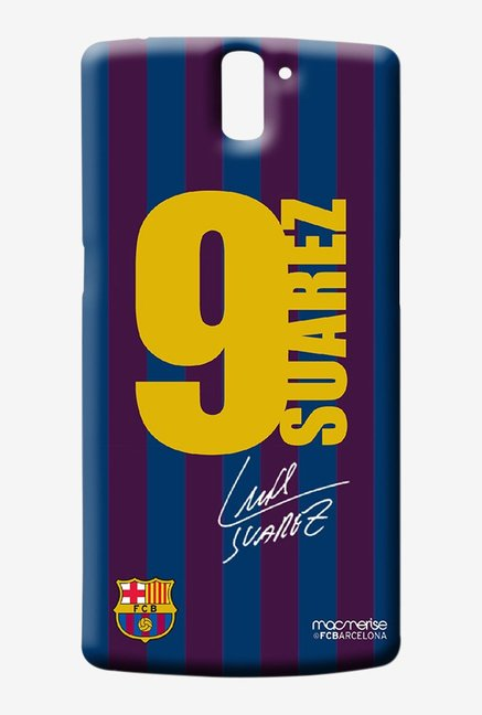 Macmerise Jersey Suarez Sublime Case for Oneplus One