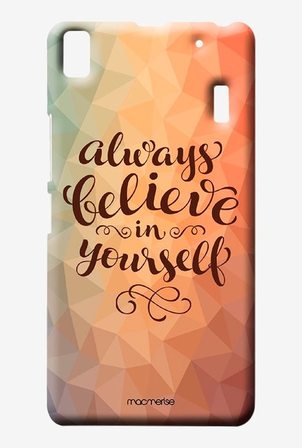 Macmerise Believe In Yourself Sublime Case for K3 Note