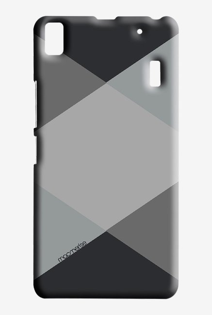 Macmerise Criss Cross Grey Sublime Case for Lenovo K3 Note