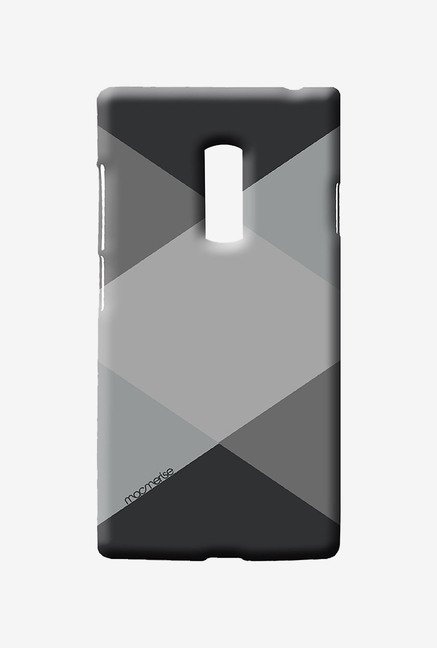 Macmerise Criss Cross Grey Sublime Case for Oneplus Two