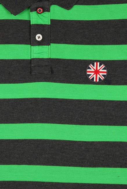 Peter England Green Polo T-Shirt