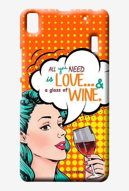 Macmerise Miss Wine Sublime Case for Lenovo K3 Note