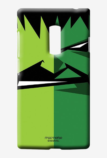 Macmerise Face Focus Hulk Sublime Case for Oneplus Two