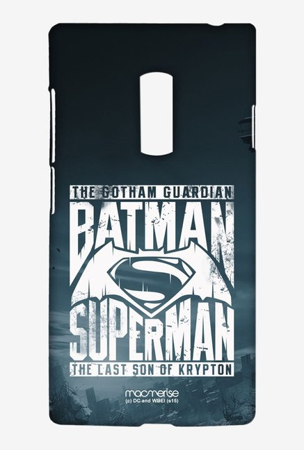 Macmerise Gotham vs Krypton Blue Sublime Case for Oneplus 2