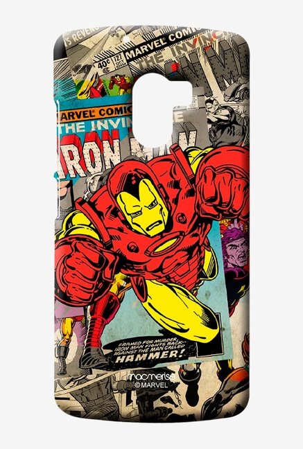 Macmerise Comic Ironman Sublime Case for Lenovo K4 Note