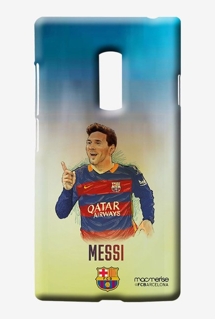 Macmerise Illustrated Messi Sublime Case for Oneplus Two